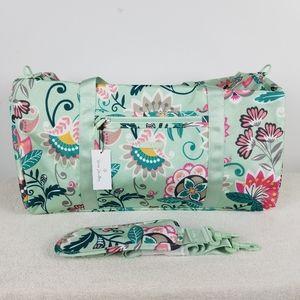 Vera Bradley Lighten Up Large Duffel Bag NWT